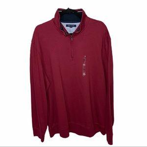 Tommy Hilfiger 1/4 Zip Pullover Sz XXL